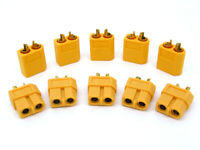 10 pair XT60 Male Female Bullet Connectors Plugs 200A For RC Lipo Battery
