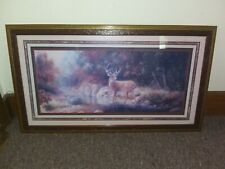 Home Interiors Deer in Forest Wall Hanging