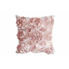 MagiDealPolyester Flower Pillow Cover Linen Throw Sofa Cushion Case Bed Decor
