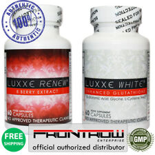 Nuevo Auténtico Luxxe Blanco mejorado glutatión & Luxxe renovar por FrontRow