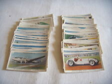 WILL'S CIGARETTE PICTURE CARDS ' SPEED ' COMPLETE SET LOOSE 50 CARDS
