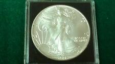 MONEDA DE PLATA PURA  0.999/1000 EEUU Liberty Eagle  AÑO 1986 1 ONZA  EN CAPSULA