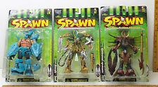 3 McFarlane Toy Spawn Manga Action Figures Series 10 Samurai Overtkill Freak NIB