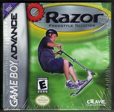 GBA Razor Freestyle Scooter (2001) Brand New & Nintendo Factory Sealed