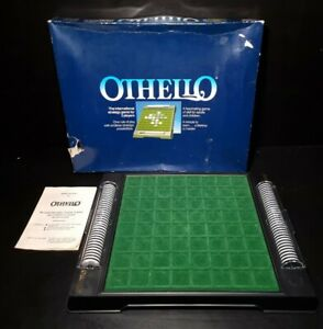OTHELLO - Strategy Board Game - 1987 Vintage Edition - Complete