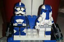 Lego Star Wars Custom Clone Commanders Wyatt and Cooper 501st  Attack Battalion