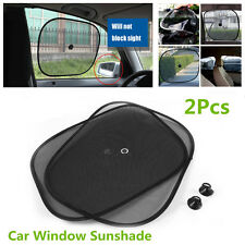 2Pcs SUV Car Side Window Mesh Sun Shade Visor Anti-UV Cover Shield For Baby Kids