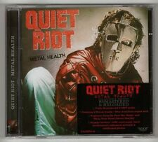 QUIET RIOT 'METAL HEALTH' REMASTERED + 5 BONUS ROCK CANDY 2012 NEW! SEALED