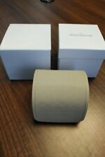 JAEGER LECOULTRE PRESENTATION POUCH IN BOX UNUSED MINT