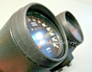 BMW TWO Airhead Speedometer Tachometer Bezel Visor r90s r90/6 r75/6 r60/6 r100/7