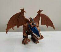 Vintage 1996 Mattel Extreme Dinosaurs War Paint Bullzeye With Wings HTF