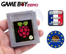 [GAMEBOY ZERO] Cartouche de jeu pour Game Boy Zero + Sticker RASPBERRY PI