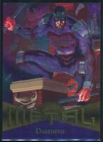 1995 Marvel Metal Trading Card #28 Daredevil
