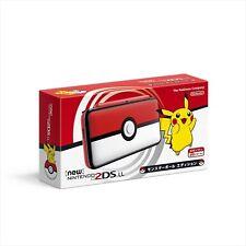 New Pokemon Center Original Nintendo 2DS LL Monster Ball Edition Japan Official