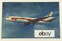 Western Airlines McDonnell Douglas DC-10 Postcard. 1970's. New! Glossy Finish.