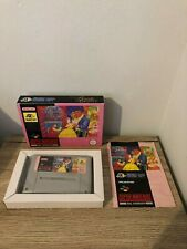 BEAUTY AND THE BEAST DISNEY SUPER NINTENDO SNES PAL COMPLETO 100%