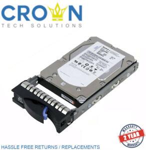 """IBM 44W2244 44W2245 44W2246 600GB 6G 15K 3.5"""" G2HS SAS HARD DRIVE"""