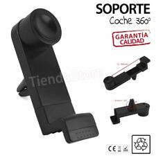 Soporte Universal de Rejilla de Coche para Móvil Smartphone Orientable 360º