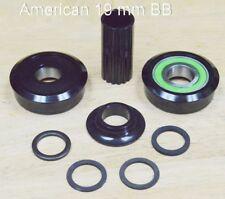NEW Sealed American 19mm Bottom Bracket Kit Black BB BMX