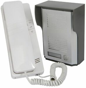 Door Intercom 2 Wire Phone Bell Security Entry Call System Apartment Flat Garage