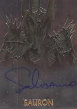 """LOTR Trilogy Chrome - Sala Baker """"Sauron"""" Auto / Autograph Card"""