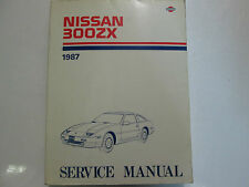 1987 Nissan 300ZX 300 ZX Service Repair Shop Manual Factory Book OEM 87 x
