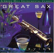 Great Sax - Sam Levine - Produced By Jack Jezzro