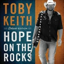 Hope on the Rocks [Deluxe Edition]  by Toby Keith  - CD IN EXCELLENT CONDITION !