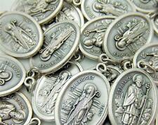 MRT Lot Of 15 St Bridget & Saint Patrick Medal 2 Sided Pendant Irish Patron Gift