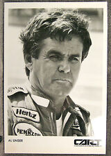 BLACK & WHITE PHOTO ~ AL UNSER ~ CART