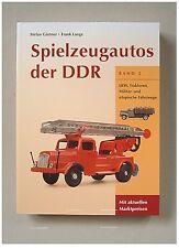 Katalog Spielzeugautos der DDR, Band 2, MSB, ESPEWE, MSW, PIKO, PLAHO, ELMES,