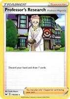 Pokemon Card Lot Trainer - 4x Professor's Research 178/202 - Mint NM