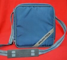 PRAKTICA - VINTAGE PADDED CAMERA CASE / BAG - MULTI SECTIONED - FAB CONDITION!