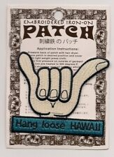 The State of Hawaii Souvenir Hang Loose Patch