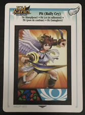 Kid Icarus Uprising 3DS Card 403 Pit (Rally Cry) Rare Diamond Wing PAL/EUR Set