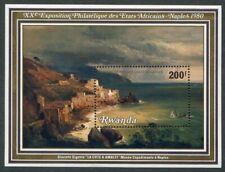 RWANDA   974  Beautiful  Mint  NEVER  Hinged  Souvenir  Sheet  AMALFI  COAST  AG