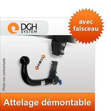 Attelage démontable vert Audi A6 ALLROAD 00/06 Avant break + faisceau 7 broches