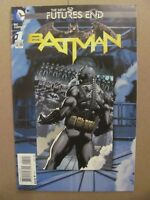 Batman Futures End #1 NEW 52 DC 2014 One Shot Regular Cover 9.4 Near Mint