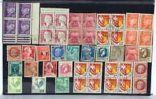 FRANCE lot de timbres petit format  L0318