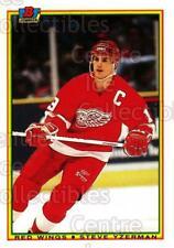 1990-91 Bowman Tiffany #233 Steve Yzerman