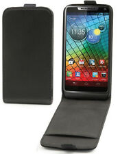 Etui Slim à rabat Motorola RAZR-i rabat vertical fermeture magnétique