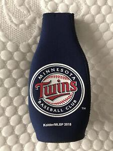 Minnesota Twins MLB Baseball Team Zipped Bottle Beer Cooler Jacket