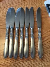 NASCO Stainless KAREN Flatware Japan 7 Dinner Knives
