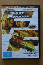 The Fast And The Furious (DVD, 2002)      Preowned  (D199)
