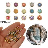 Des habits de poupée. 1 / 6 poupées Couture de chandail Mini - bouton de perle