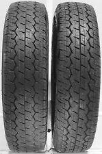 "2 16513 Dunlop 6Pr 6 ply van 13"" 165 13 Used Part Worn Tyres x2 DV01 Town Cargo"