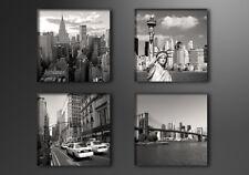Leinwand Bild fert gerahmt New York 4x20cm XXL 4 6901+