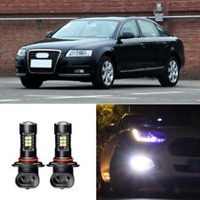 2x Canbus H11 3030 21SMD LED DRL Daytime Running Fog Light Bulbs For Audi A6 09+