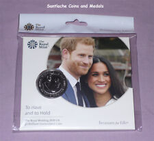 2018 ROYAL MINT PRINCE HARRY AND MEGAN WEDDING £5 CROWN - MINT SEALED PACK