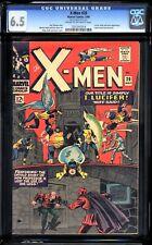Uncanny X-Men 20 CGC 6.5 - How Professor X lost use of his legs - KEY ISSUE!